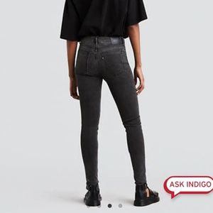 Levi's Made & Crafted Gray Black Skinny Jeans